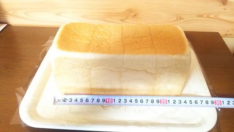 銀座 に志かわ 食パンの大きさ