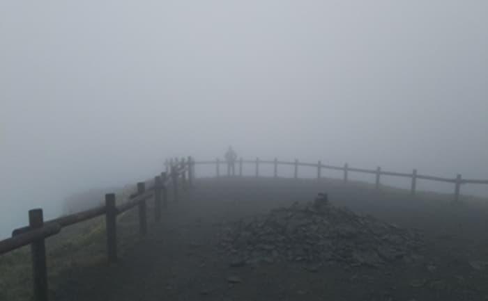 美幌峠 濃霧