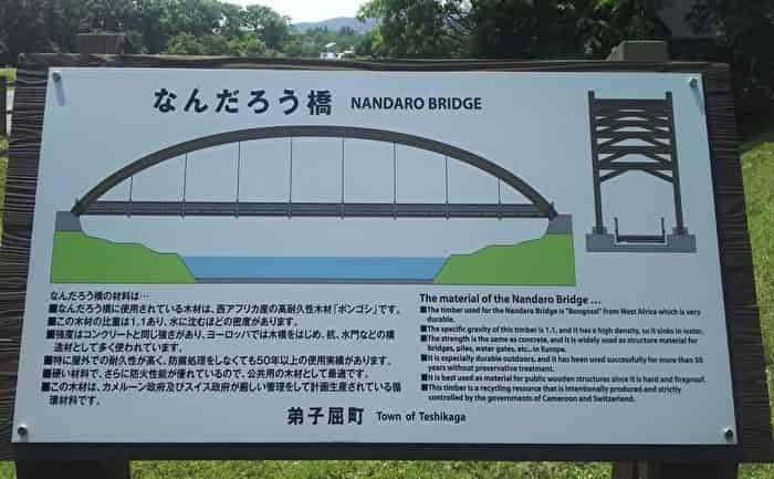 水郷公園 なんだろう橋 案内板