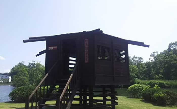 水郷公園 野鳥観察小屋