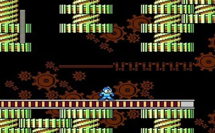ロックマン2 メタルマンステージ